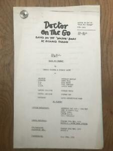 Richard Gordon 1975 London Weekend Television Script for Doctor On the Go Ep 11