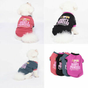 Pet Cat Printed Warm Sweater Costumes Casual Puppy Dog Thick Sweatshirt Apparel