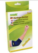 Care4you Ellenbogen Bandage Schoner elastisch Universal blau