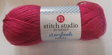 STITCH STUDIO NICOLE~Lot 3541903~PRINCESS PINK Storybook Lullaby LIGHT 3 Yarn