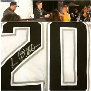 Luc Robitaille Signed Auto CCM Los Angeles Kings Throwback Jersey PSA DNA COA LA