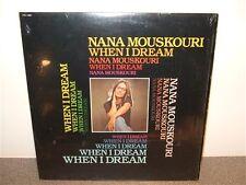 Nana Mouskouri . When I Dream . Shrink Wrap . LP