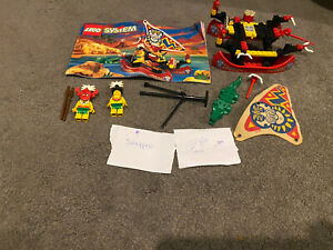 Vintage Lego Pirate set 6256 c/w minifigures and instructions