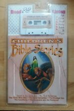 1996 Childrens Bible Stories Cassette Book Read Listen New Factory Sealed