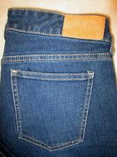 H & M Skinny Low Waist Stretch Womens Blue Jeans Size 29 x 31 Mint
