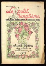 TINTIN  LE PETIT VINGTIEME n°52  29 dec. 1938  EN SYLDAVIE  HERGÉ  SUPERBE ETAT