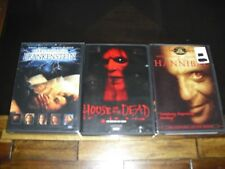Hannibal / Mary Shelley's Frankenstein / House of the Dead (DVD Bundle Movies )