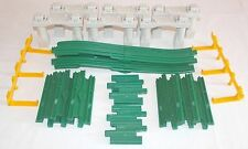 GeoTrax Elevation Track Pack - Straights n Ramps Complete Train Track Set G6170