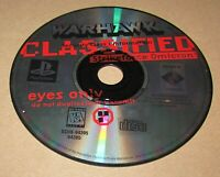 WarHawk (Game Only) Playstation PS1 Fast Shipping