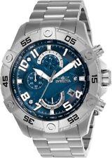 Invicta Men's Watch S1 Rally Scuba Chronograph Blue Dial Steel Bracelet 26094