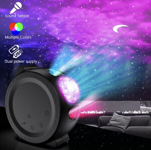 2020 Black Galaxycove like Starry Led Night light projector
