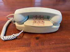 Vintage Landline Telephone Princess Phone Robin's Egg Blue 1980's Model PRNLT