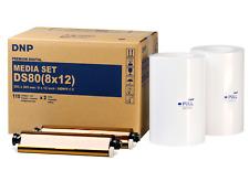 """DNP ds80 Media Set 8x12"""" (20x30 cm) 220 stampe PRINTS DS 80 812 Mediaset"""