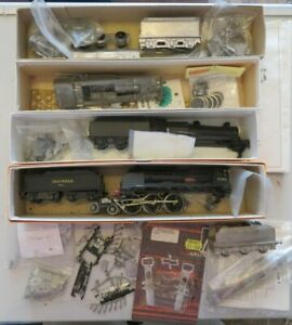 Locomotive White Metal Kits & Parts Collection unfinished & not complete