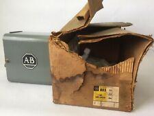 ALLEN BRADLEY 803-A4 CAM LIMIT SWITCH 600V AC/DC NEMA 1 NO. OF CIRCUITS 4 SER A