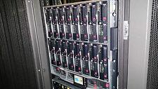 HP BladeSystem C7000 Gen 2 con 8x BL460c G7 Blade 16x X5670 6-Core 768gb 10GB NIC