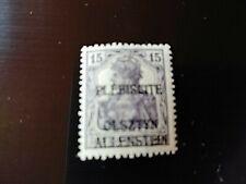STAMPS - TIMBRE - POSTZEGELS - DUITSLAND ALLENSTEIN 1920  NR. 3 *  (D196)