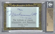 2011 Leaf Cut Signature Muhammad Ali Executive Collection Auto