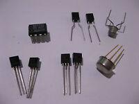 Assorted RF Semiconductor Amplifier Transistor Varactor - NOS Lot