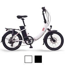 """Bicicleta Eléctrica FOO F1 20"""" E-Bike, E-Plegable, Blanca o Negra"""
