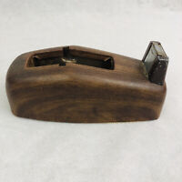 Vintage Scotch 3M Executive Tape Dispenser C-21 Metal Faux Wood Finish MCM
