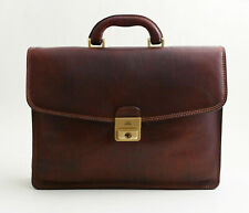 The Bridge Story Uomo Aktentasche Top Zustand Businesss Leather Bag Briefcase
