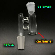 Reclaim Ash Catcher Drop Down Glass Adapter 14mm Male to Female Lab Glass