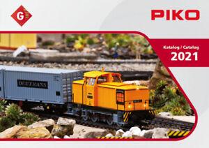 Piko Hauptkatalog 2021 für Spur G Gartenbahn