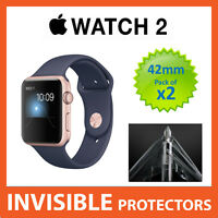 Apple Watch Series 2 42mm Screen Protector - Military Grade Quality - PACK OF 2