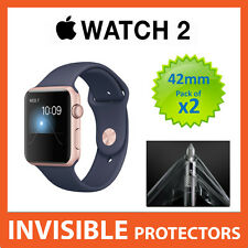 Apple Watch Series 2 42mm protecteur d'écran-militaire grade qualité-pack de 2