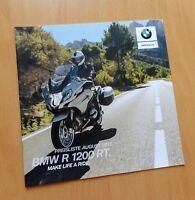 1292) BMW Motorrad R 1200 RT Prospekt 2017 brochure
