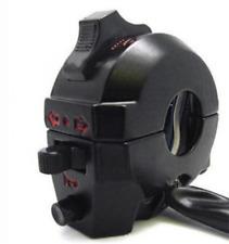 "7/8"" Universal Metal Waterproof Handlebar Horn~High/Low Beam Light~Turn Signal"
