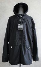 Pajar Canada Linden Packable Men's Rain Hooded Black Jacket Size XL