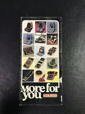 Vintage Coleco Video Game Cartridge Catalog Atari & Intellivision
