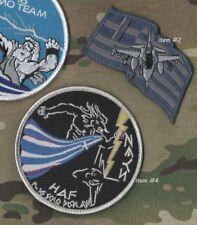 GREEK HELLENIC AIR FORCE HAF F-16 Zeús Δίας DEMO TEAM burdock 2-SSI item#2 + #4