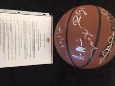 2005-06 Los Angeles Lakers Autograph Team Ball w/ Kobe Bryant & COA