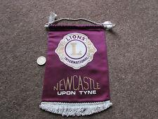NEWCASTLE upon TYNE  Lions Club International Original PENNANT