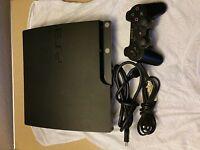 Sony PlayStation 3 Slim 120 GB Charcoal Black Console (NTSC - CECH-2001A) Bundle