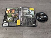 Tom Clancy's Splinter Cell Stealth Action Redefined Playstation 2 PS2 No manual