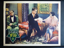 1929 FALL OF EVE - EXC. COND. PRE-CODE COMEDY LOBBY CARD - PATSY RUTH MILLER