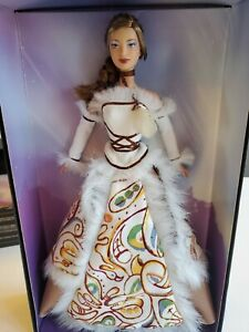"Inuit Legend Barbie Doll Gold Label Native American Indian Canada VG Inuite """
