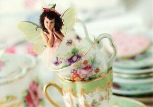 Beautiful Little Teacup Fairy In The Teacups Hallmark Postcards - Set of 2