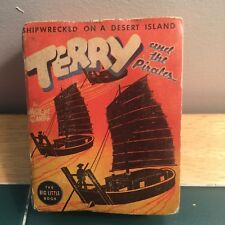 Big Little Book Terry & Pirates Shipwrecked on a Desert Island #1412