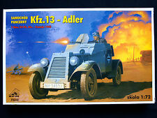 GERMAN KFZ.13 ADLER ARMORED CAR, SCALE 1/72, RPM 72312
