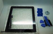 iPad 4 Nero Digitizer, Touch Screen, Vetro Frontale + 3M Nastro Adesivo