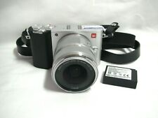 YI M1 4K 20MP Mirrorless Camera w/ 12-40mm Lens (Silver) ⭐Excellent Condition⭐