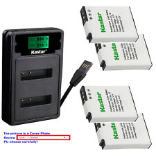 Kastar Battery LZD2 Charger for Nikon EN-EL12 EL12 Nikon Coolpix S1200pj Camera