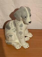 Vintage Russian Ceramic Dalmatian Puppy Dog Lomonosov Made in USSR
