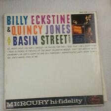 Billy Eckstine & Quincy Jones At Basin Street East LP vinyl