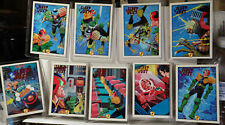 JUDGE DREDD 9-CARD SLEEP OF THE JUST CHASE CARD SET-1995+1-MP1 MOVIE PREVIEW SLY